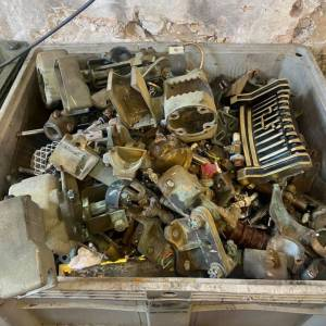 scrap brass pipes