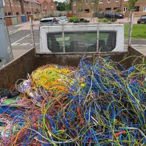 scrap wires new forest
